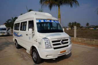 12/13  Seater Tempo Traveller A/C